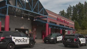 Police: Store employee shot in chest while escorting man out of Federal Way Winco
