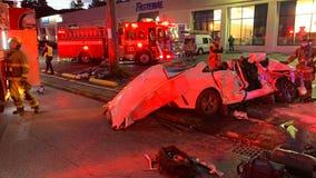 Several hurt in serious 2-car crash in Tacoma