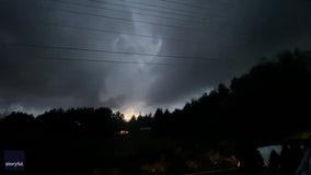 National Weather Service confirms EF-0 tornado hit near Battle Ground, Washington