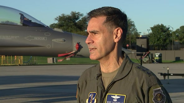 Air Force fighter pilot says he was prepared to use his plane as a weapon to protect DC on 9/11