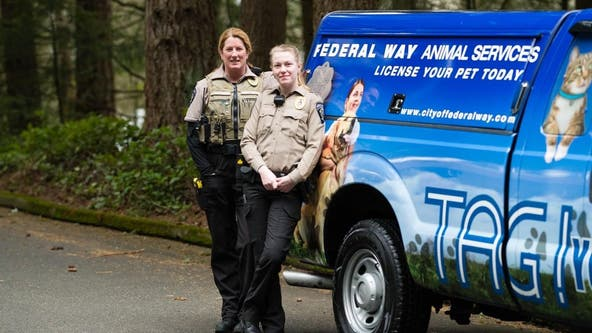 Federal Way police rescue 5 malnourished dogs living in 'squalid' conditions