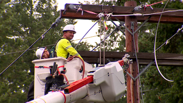 Power outages caused by Friday's storm impact tens of thousands