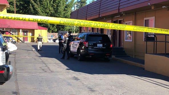 Police investigating shooting at Federal Way motel