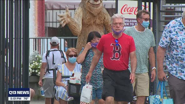Families enjoy opening day at Washington State Fair as health officials announce new outdoor mask mandate