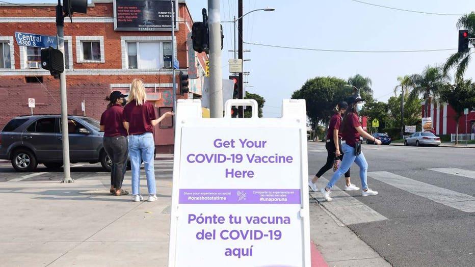 COVID-19 vaccine site