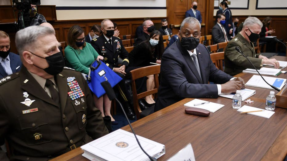Gen. Milley  And Secretary Austin Testify Before House Armed Services Committee