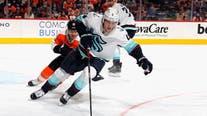 Flyers spoil Hakstol's return in 6-1 win over Kraken