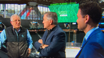 Leiweke brothers reflect on historic week at brand new Seattle arena