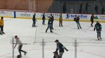 Fans watch historic first Kraken NHL game in memorable way