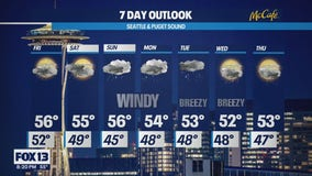 A series of systems will roll through the Northwest delivering active weather into next week