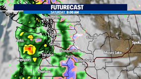 All eyes on Sunday as a series of wet systems continue