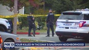 Neighbors reeling after four gunned down in Tacoma's Salishan neighborhood