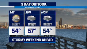 Get ready, get set for a sloppy weekend as the Northwest gets hit with system after system.