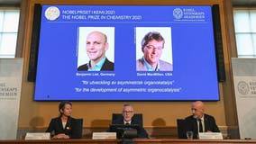 Nobel Prize in chemistry awarded to scientists for new way to build molecules