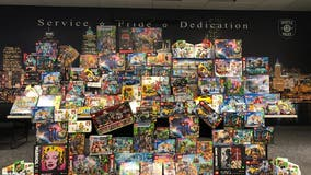 SPD recovers hundreds of stolen Legos in undercover theft operation
