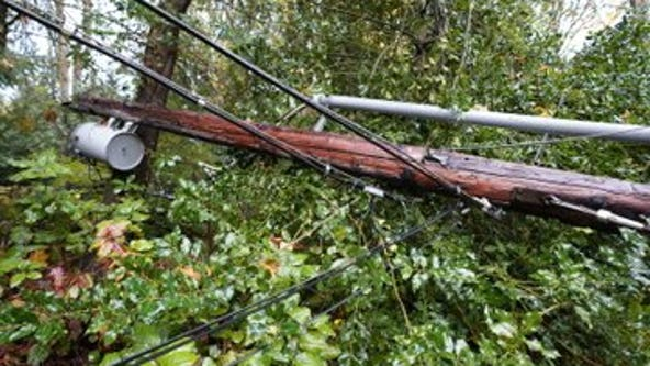 Crews continue to clean up, restore power to thousands following storm