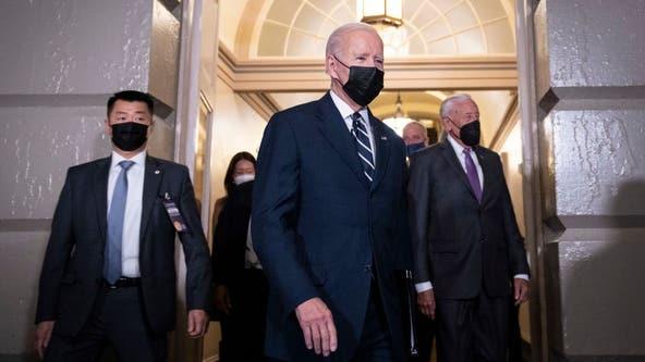 Biden to push $1.75T spending framework in trip to Capitol