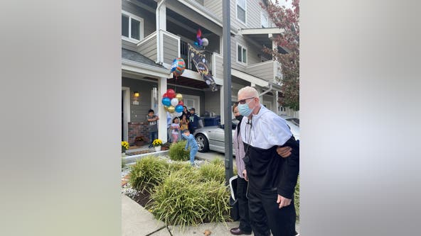 'He's a living miracle'; COVID survivor from Federal Way goes home after 1 year