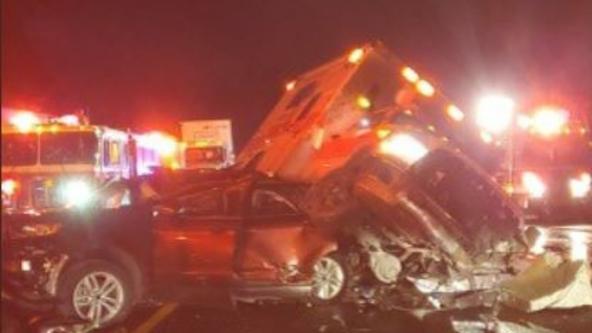 I-90 reopens between North Bend, Easton following multi-car crash