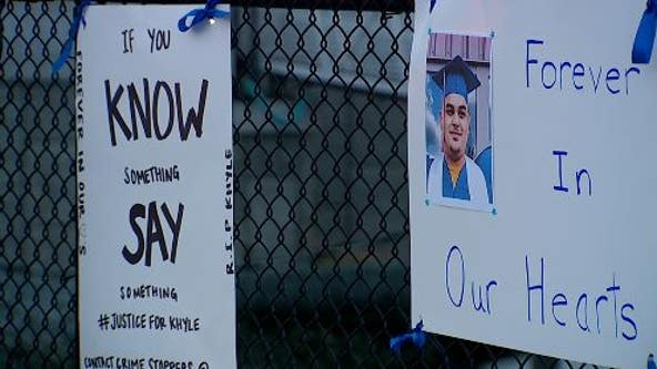 Family and friends hold vigil for teenager killed in Ruston