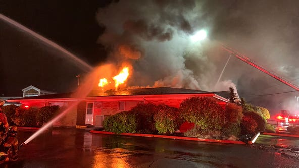 Tacoma firefighters put out flames at school outbuilding