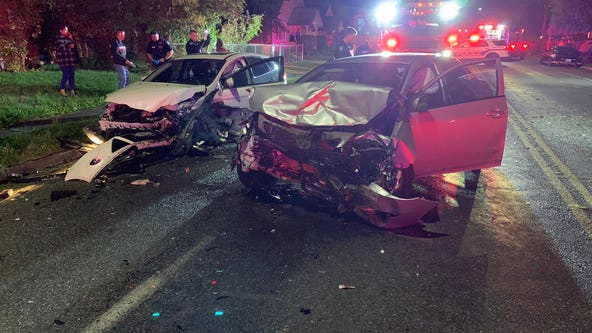 Three injured in multi-car crash in Tacoma