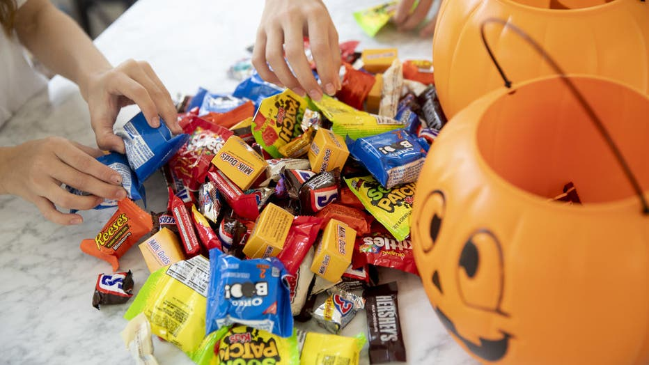 Candy In, Costumes Out As Halloween Celebrated From The Couch