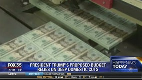 President Trump's proposed budget relies on deep domestic cuts