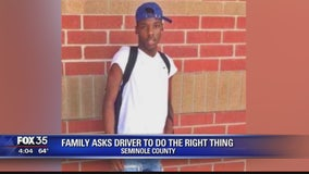 Family asks driver to do the right thing
