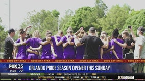 Orlando Pride season opener this Sunday