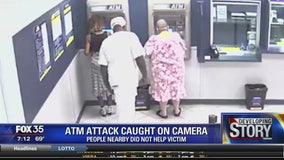 ATM attack caught on camera