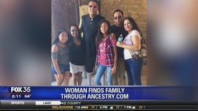 Woman finds family through ancestry.com