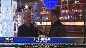 David Does It: LBU Lighting in Winter Park
