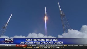 NASA providing first live 360-degree view of rocket launch