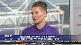 #FillTheBowl for this Saturday Orlando Pride vs Washington Spirit game