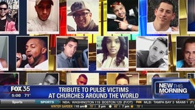 Tribute to Pulse victims at churches around the world