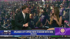 Orlando City opens new stadium with win