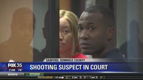 Sanford shooting suspect in court