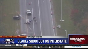 Deadly shootout on Interstate 75 in Florida