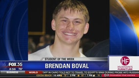 Student of the Week: Brendan Boval