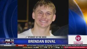 Student of the Week: Brendan Boval