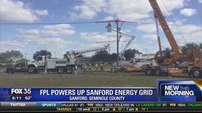 FPL powers up Sanford energy grid