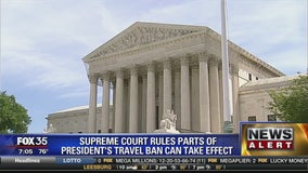 Supreme Court rules parts of President's Travel Ban can take effect