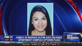 Family of murder victim sues Orlando apartment complex Uptown Place
