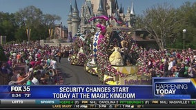 Security changes start today at the Magic Kingdom