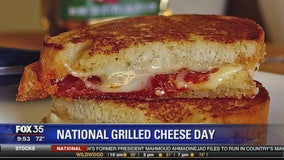 National Grilled Cheese Day with Co-Founder of Toasted food truck