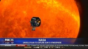 NASA unveils plan to explore sun's atmosphere