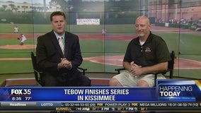 Tebow finishes series in Kissimmee