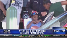 7-year-old shooting victim released from hospital