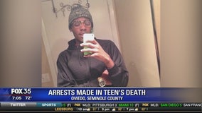 Arrests made in teen's death